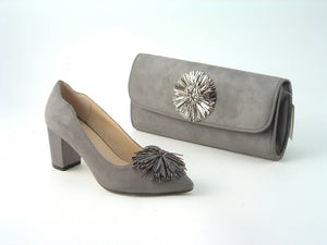 Tassel Court Shoe and Clutch Handbag - Available separately