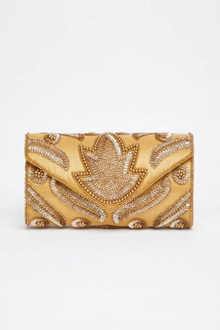 Vegas Hand Embellished Clutch Bag