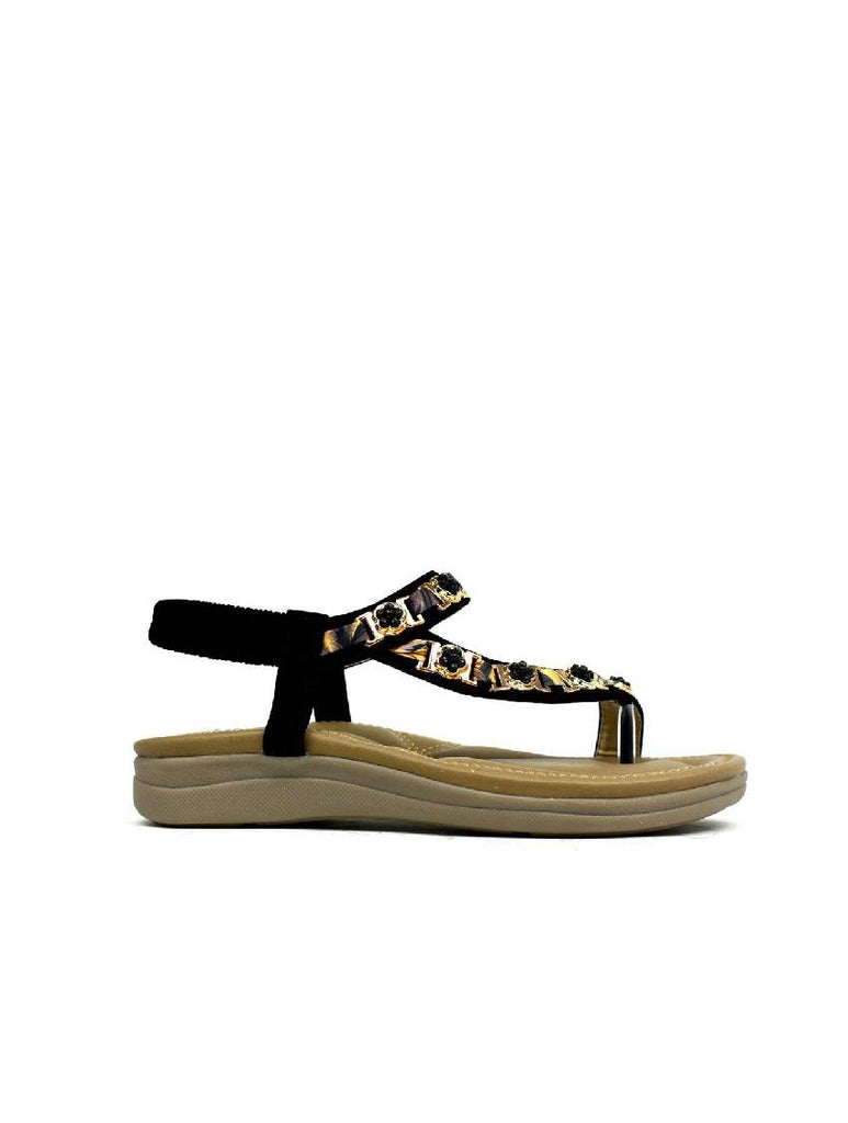 LSA-8037 C1801-41 WEDGE STRAPPY SANDAL