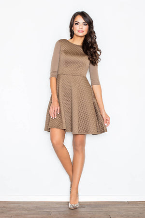 Beige Women Dress