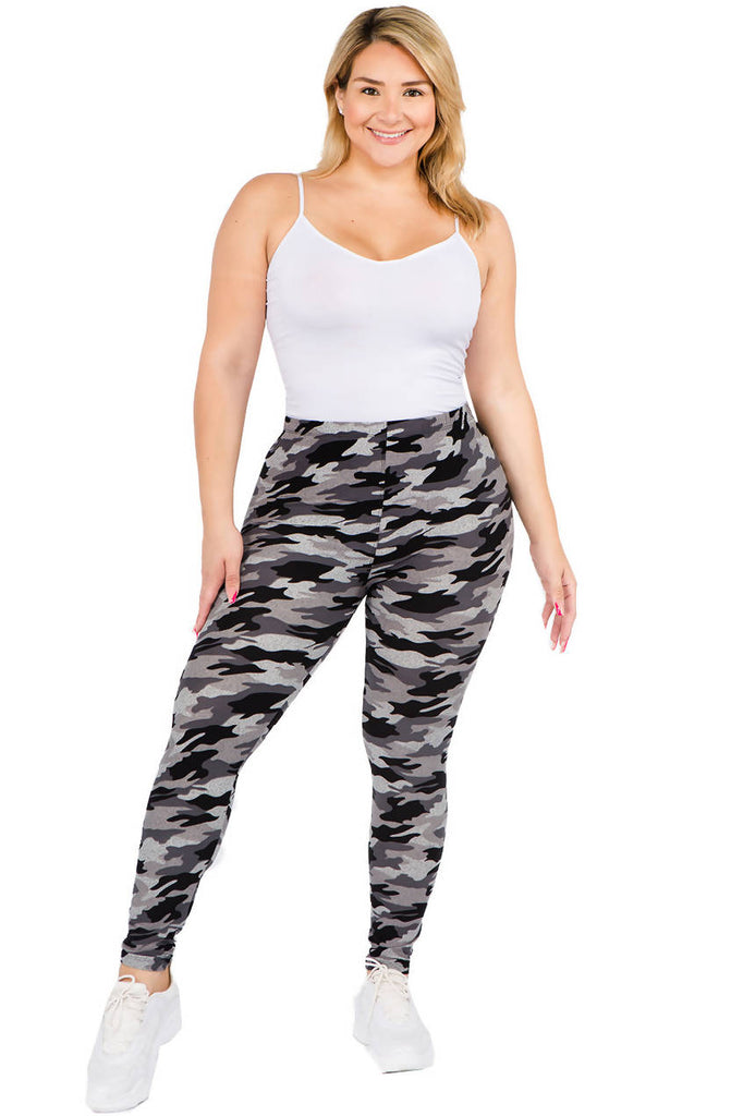 Women's Camo Print Leggings