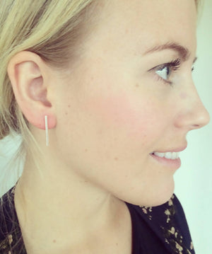 Vega Earring Gold - Single