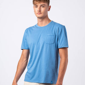 MARGARITA Pocket T-shirt - Blue