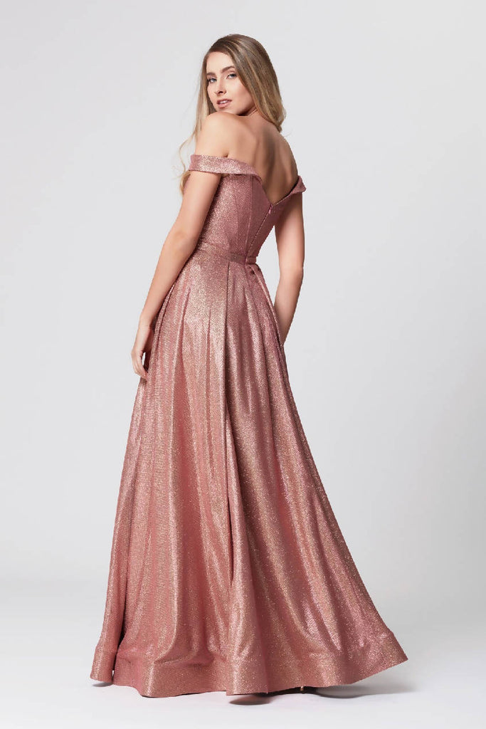 Off-Shoulder Maxi Dress
