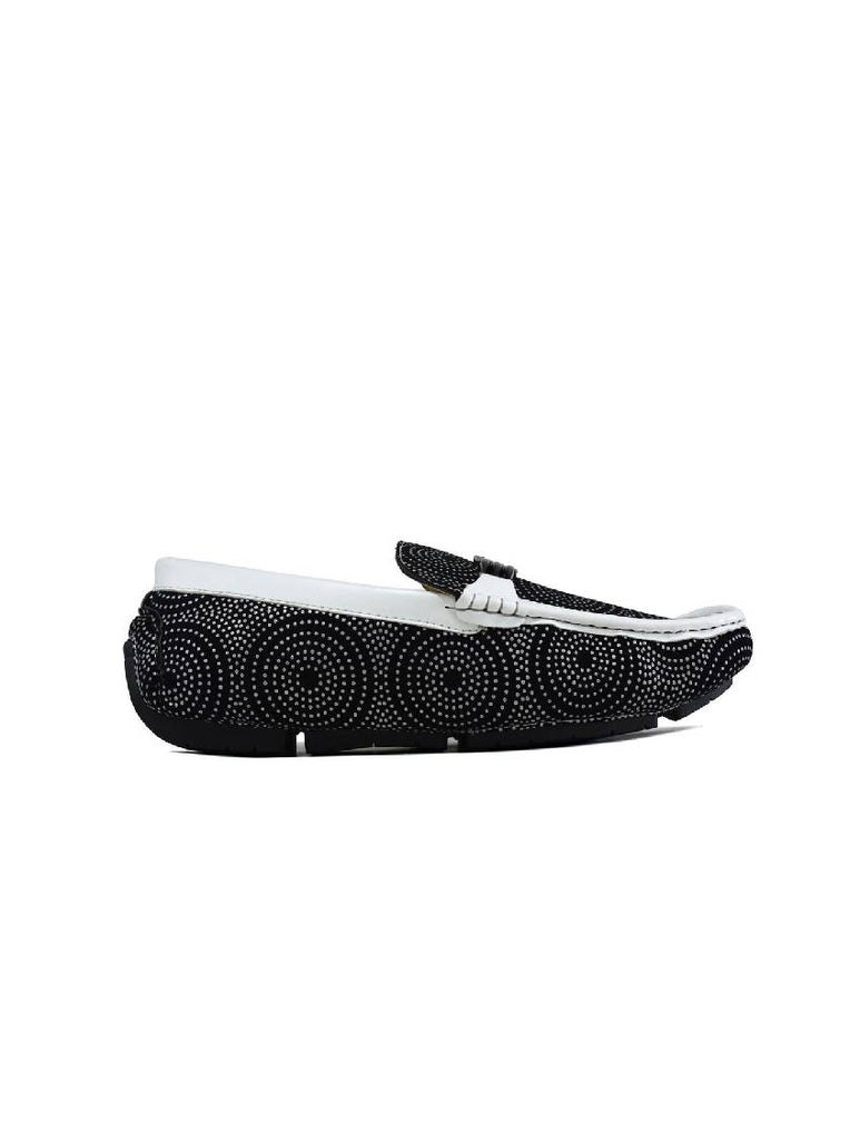 MSH-8074 7319-3 BUCKLE SLIP ON SHOES