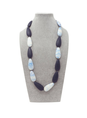 LUN155N NECKLACE TURQUOISE NAVY