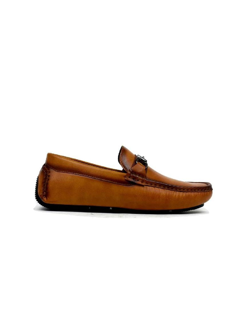 MSH-8076 0446-2 BUCKLE SLIP ON SHOES