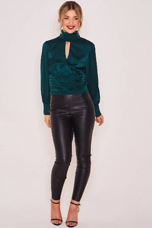 Clea Night Out Top Green