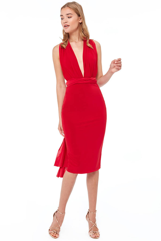 MULTIWAY MIDI DRESS
