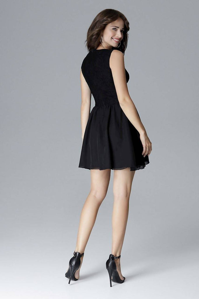 Flared Mini Dress L024