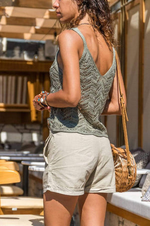 Knitted Summer Cami Top