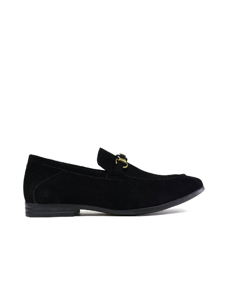 MSH-8141 3106-1 STITCHED BUCKLE SLIP ON SHOES