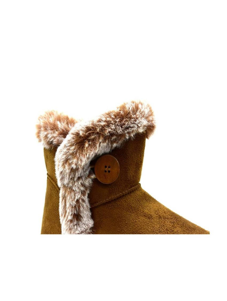 LBO-6718 LY-16A-1A FUR ANKLE BOOT