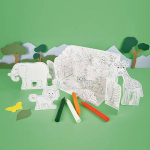 Create Your Own Colour In Pop-Up Jungle