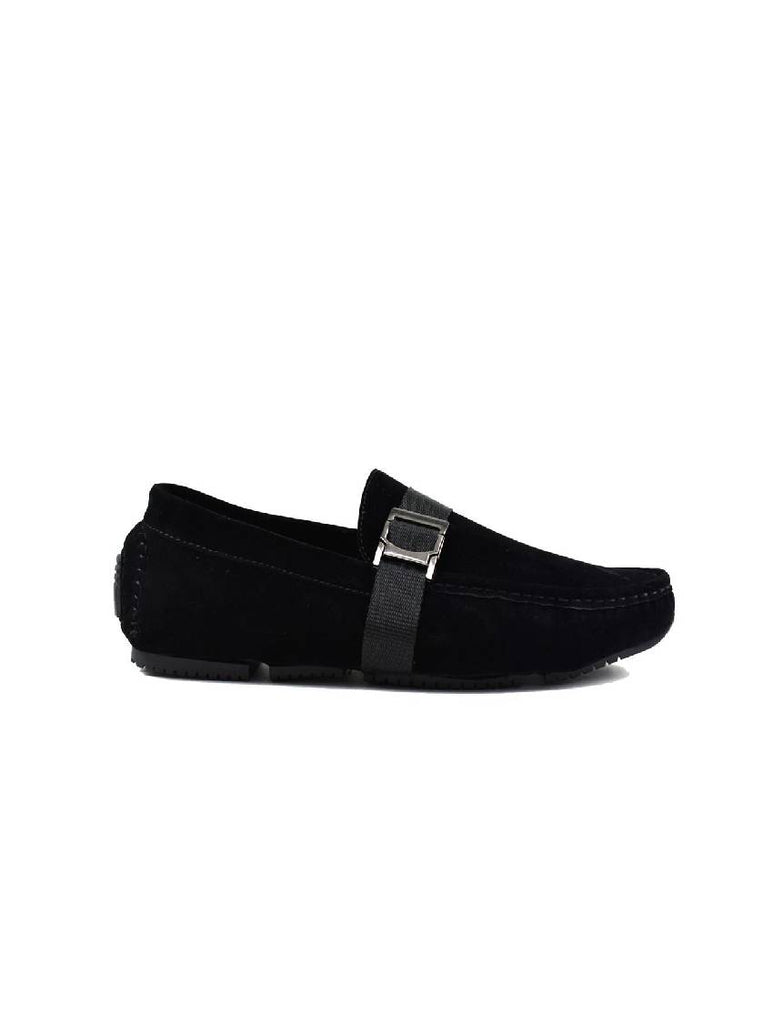 MSH-7024 SIDE BUCKLE SLIP ON SHOES (sizes 7-12)