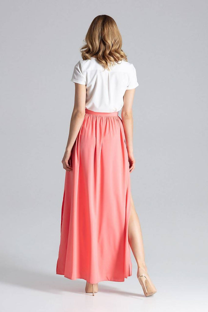 Flared Maxi Skirt M666