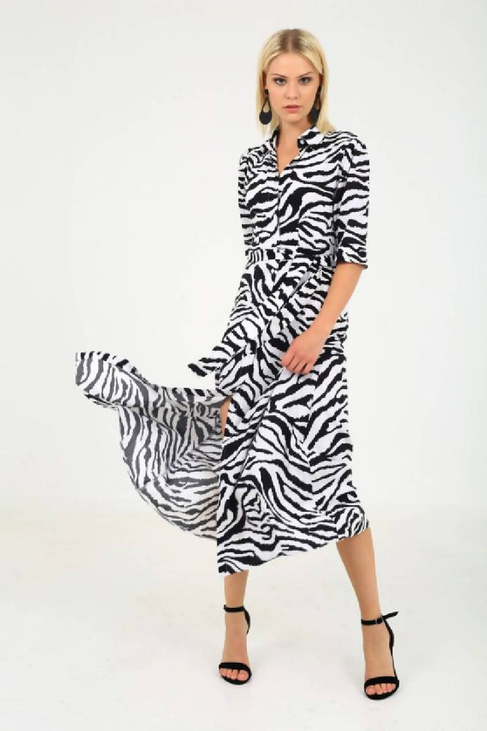 Zebra Summer Dress