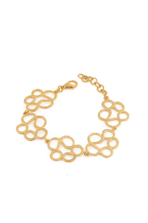 Casting Brass Gold Plated Bracelet