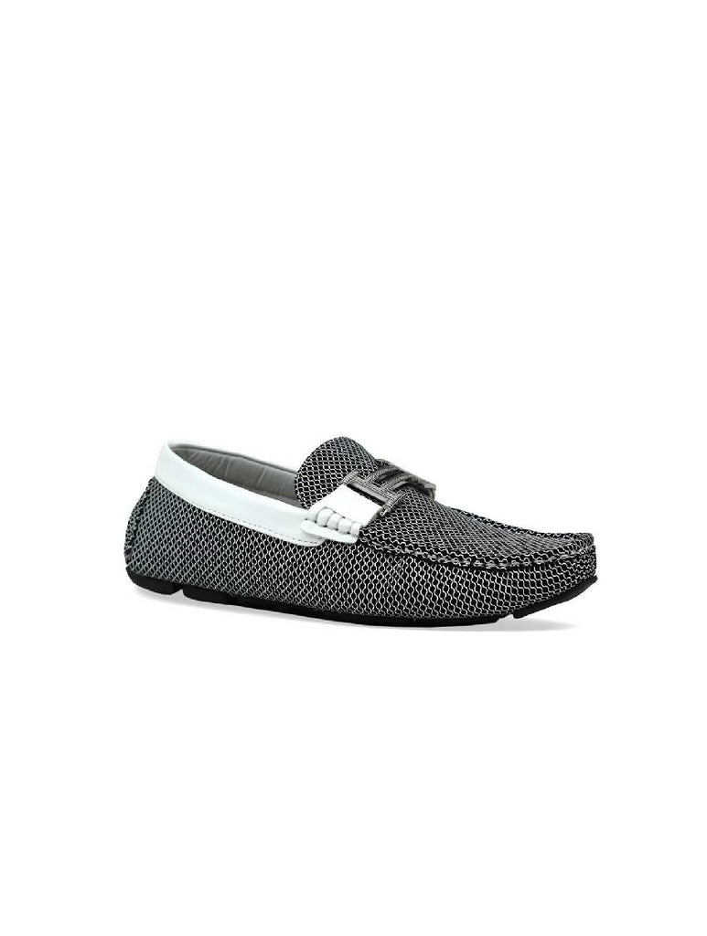 MSH-7027 BUCKLE SW7132-1 SLIP ON SHOES