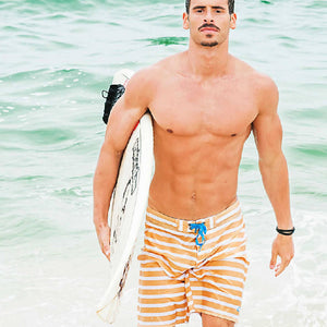 SANUR RPET Boardshorts - Yellow