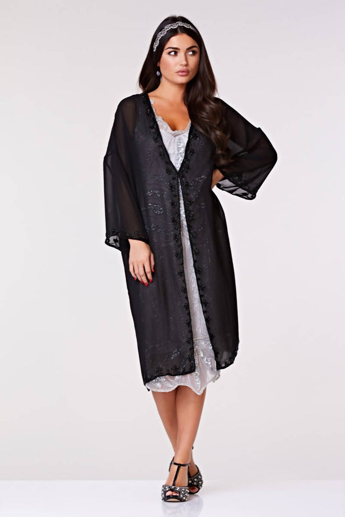 Tara Soft Mesh Long Jacket
