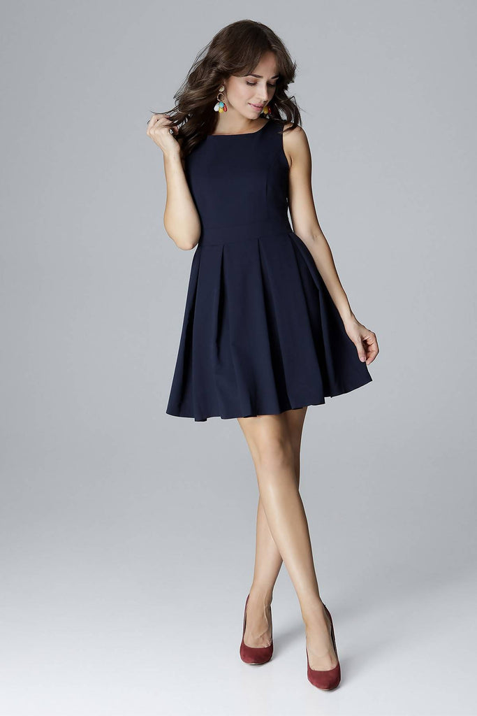 Fit and Flare Dress L006