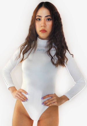 Reflective White Bodysuit