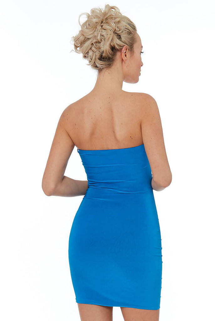DIAMANTE GLAM BODYCON DRESS