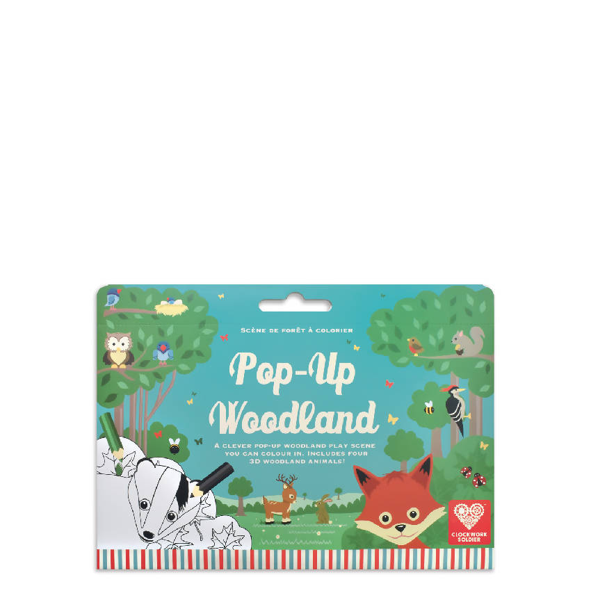 Colour In Pop-Up Woodland