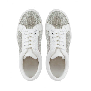 Zora' Crystal Encrusted Trainers