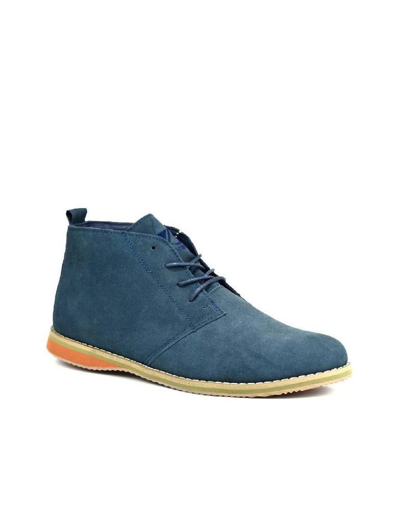 MBO-3737 DESERT BOOTS - NAVY SUEDE - PACK OF 12 - SIZE 6 TO 11