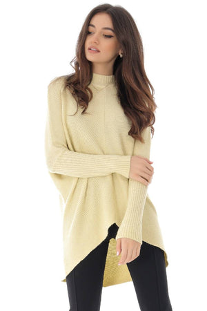 Soft Knit hi-low Jumper - Aimelia