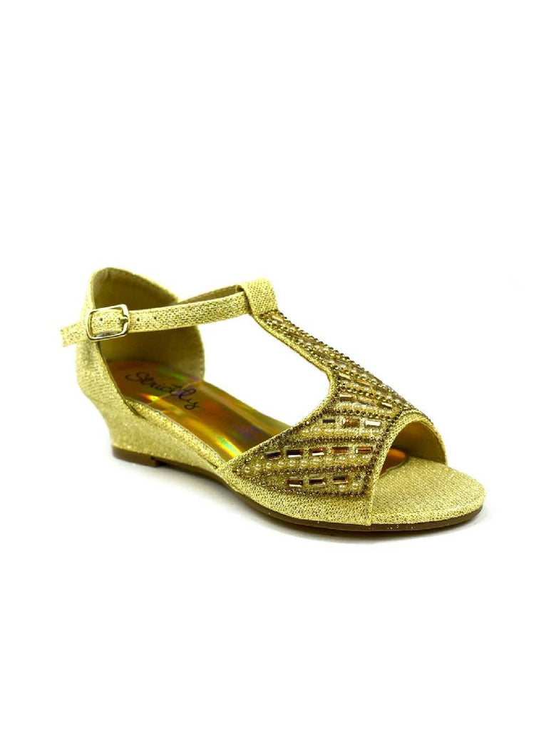 GSA-5311 CK-16 OPEN TOE WEDGE SANDAL (Pack sizes 8-3)