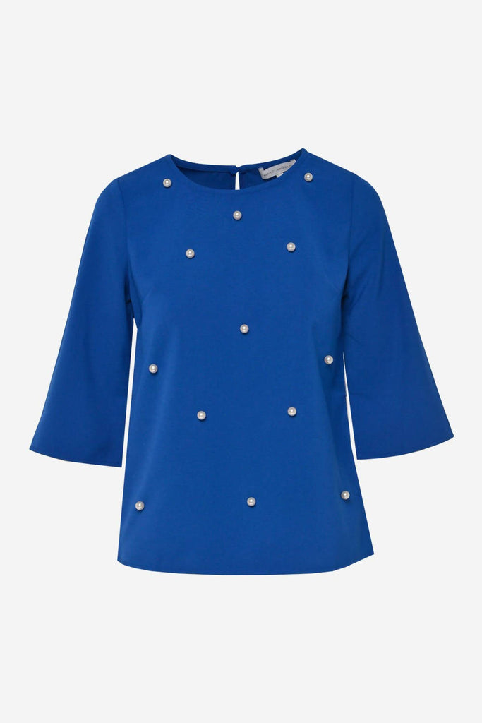 Occasion Top with Pearl Detail