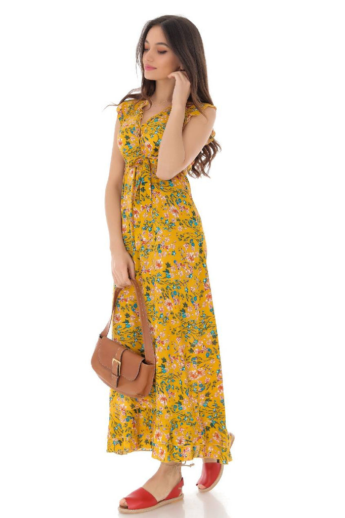 Floral printed maxi dress, Aimelia - DR4121