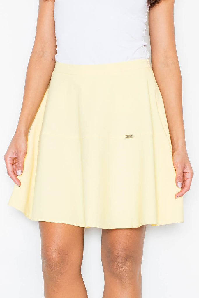 Yellow Women Skirt