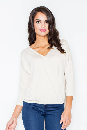 Ecru Women Blouse