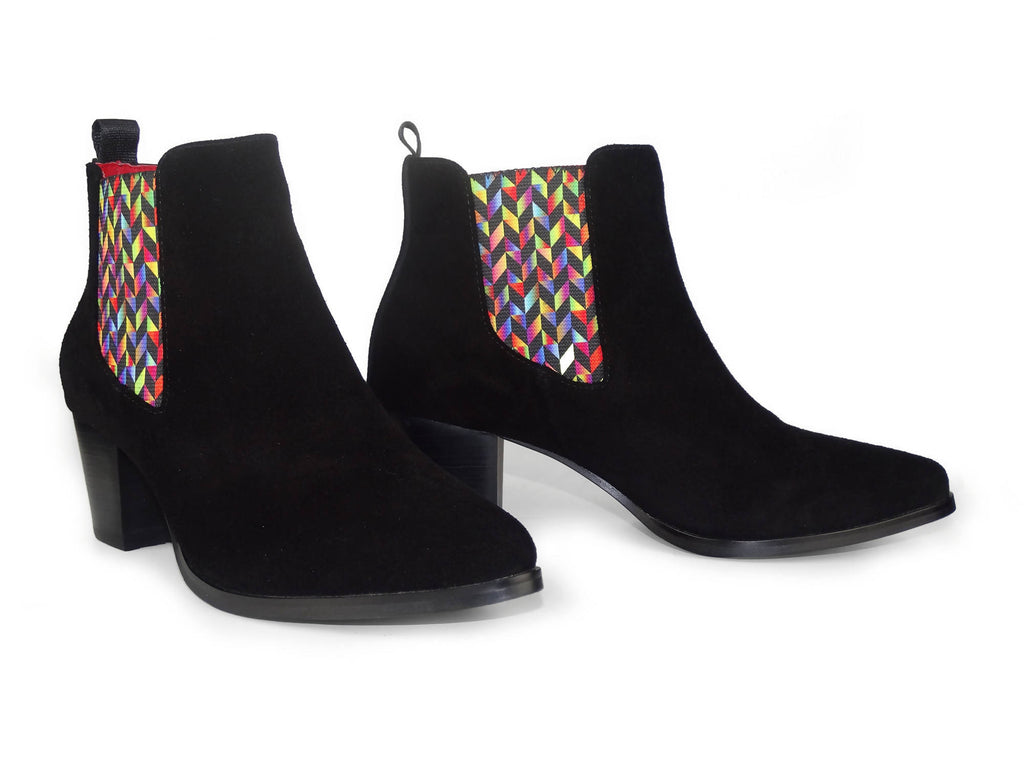 Chelsea Boots Graceful Rainbow Scales