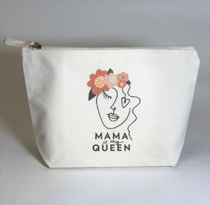 Organic Pouch - Mama is my Queen