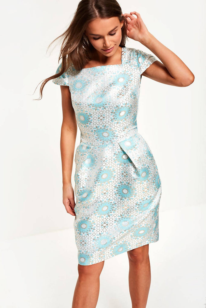 Jacquard Tulip Dress