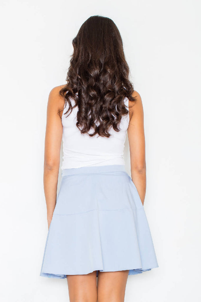 Blue Women Skirt