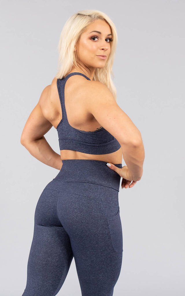 Lagom Sports Bra - Power Blue
