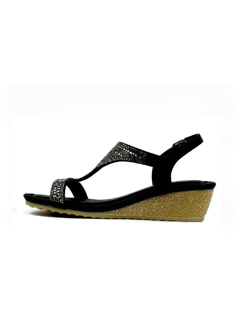 LSA-8027 AS2160-6A WEDGE HEEL SANDAL