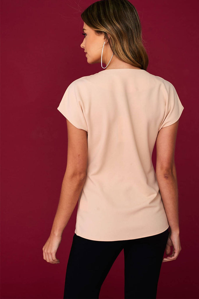 Knot Front Occasion Top