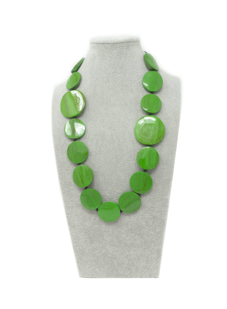 DW041N NECKLACE GREEN