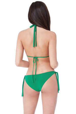 SIDE TIE BIKINI WITH BUCKLE DETAIL