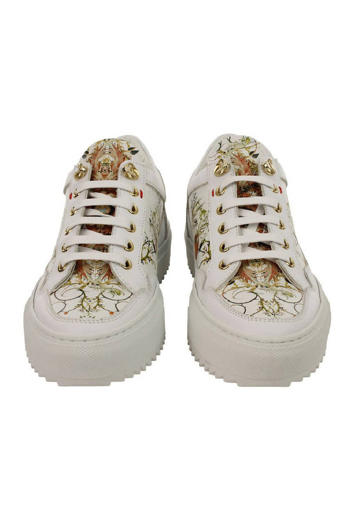 Art Trainers - Garden of Earthly Delights White