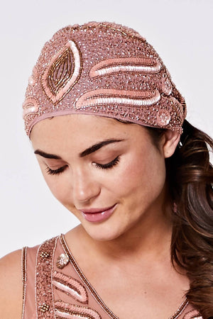 Hollywood Flapper Turban