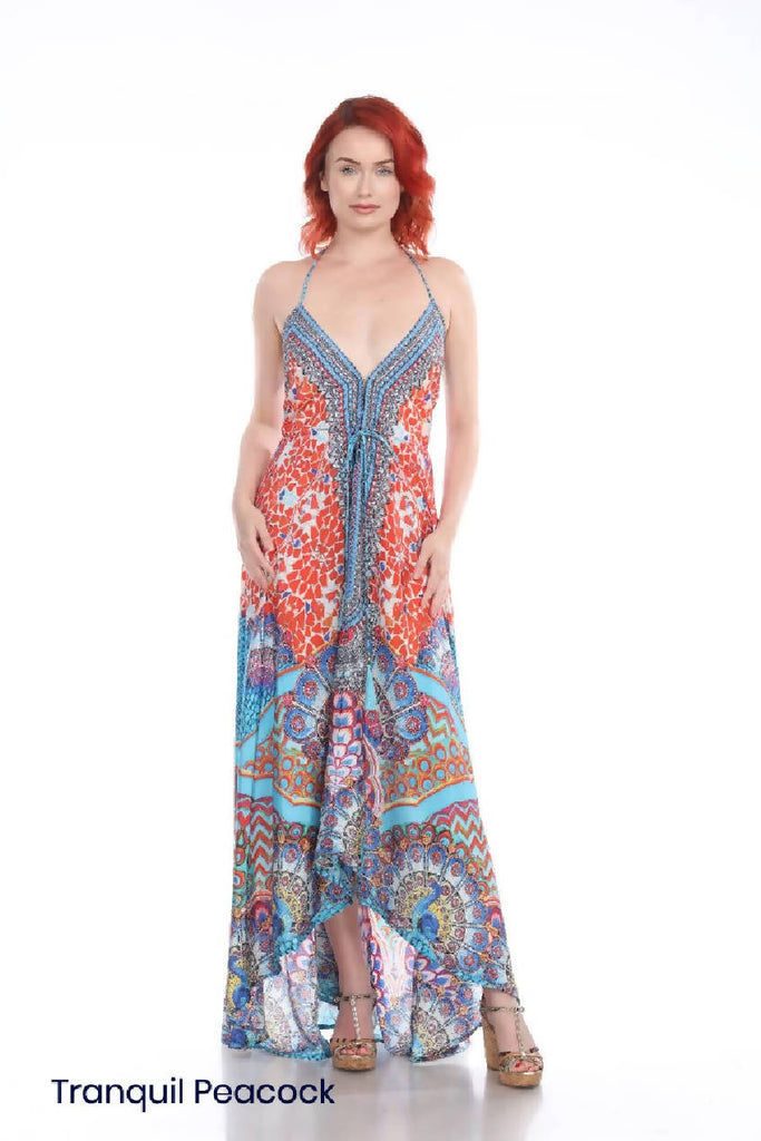 Convertible Maxi halter dress