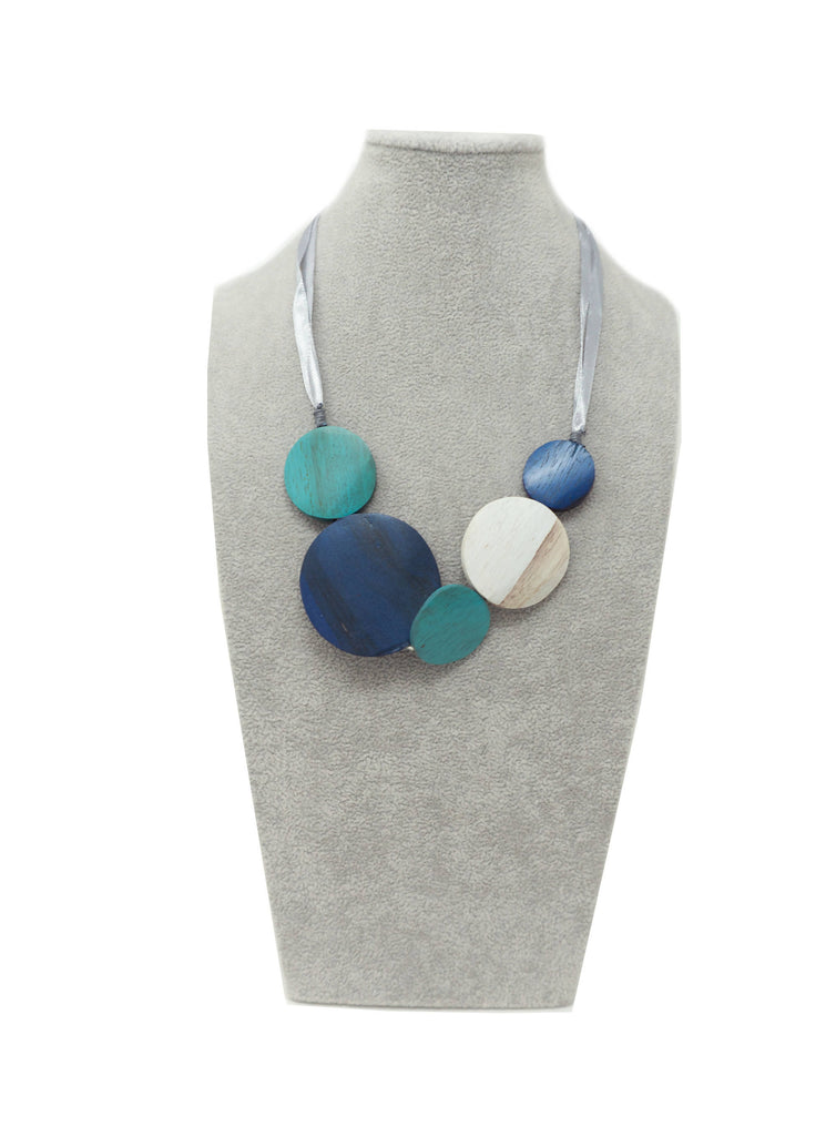 AN70N NECKLACE TURQUOISE NAVY